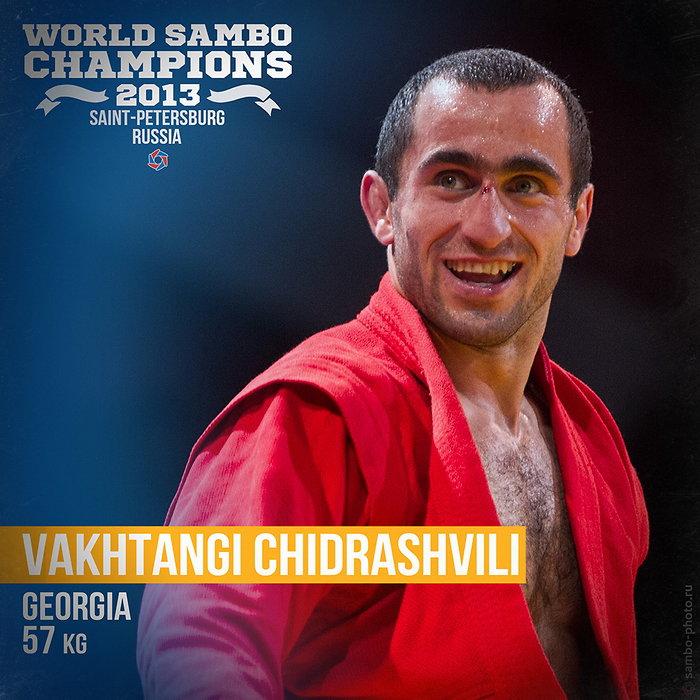 Вахтанг Чидрашвили, чемпион мира п